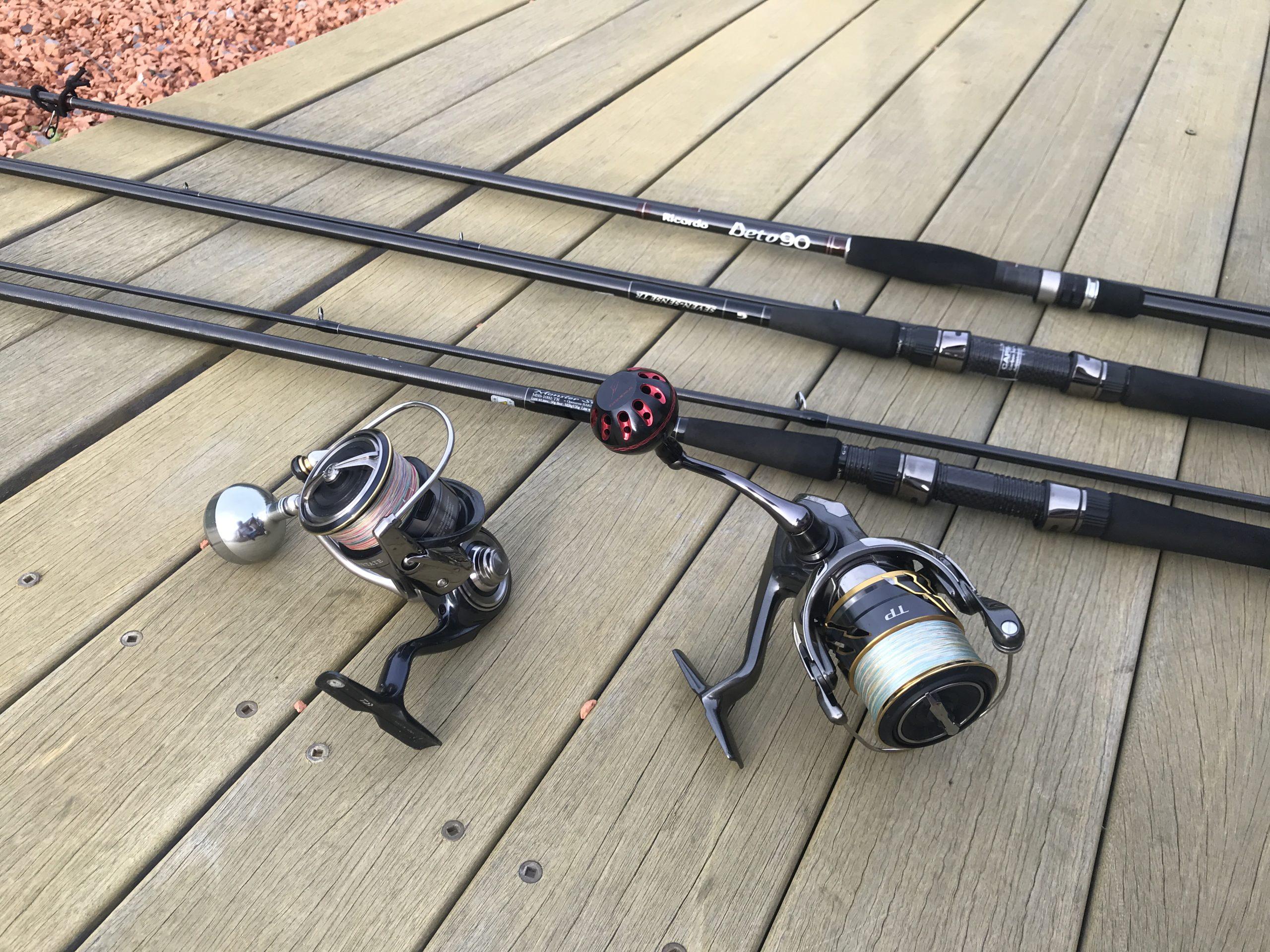 サーフでのルアー釣りを始める。リールとロッドの選び方。